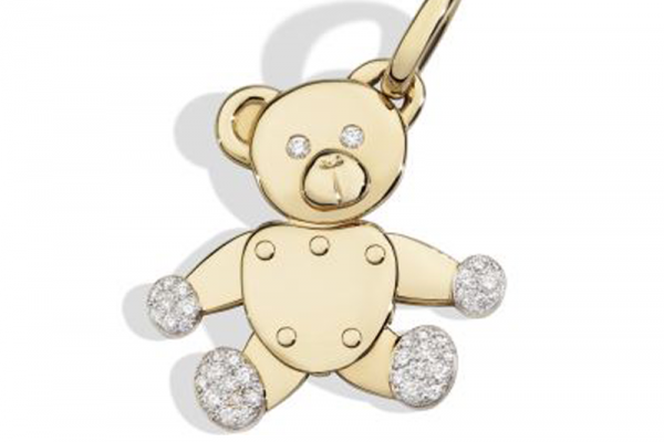 Teddy-Bear-charm-in-rose-gold-and-diamonds-by-Pomellato