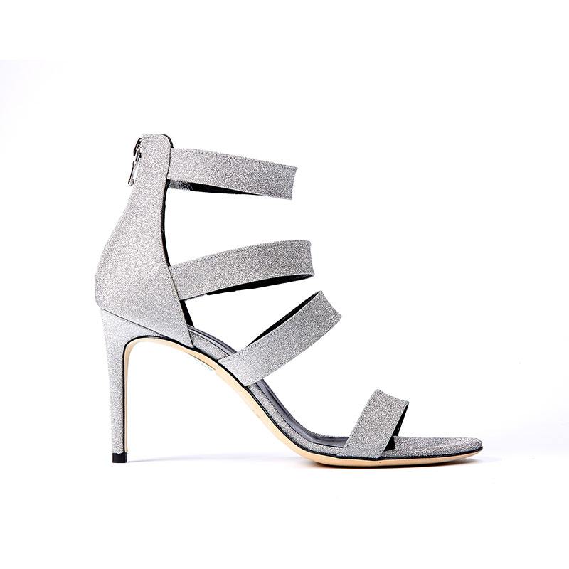 High Heel Silber Konstantin Starke New York